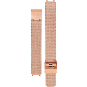 Skagen Replacement Rose Gold Mesh Strap 12mm For 233XSRR With Free Connecting Pins