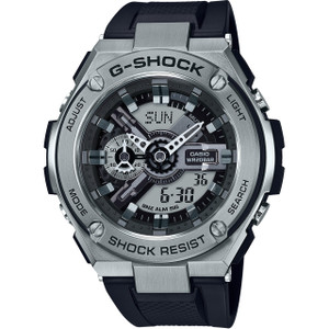 G-Shock G-Steel Black Resin Strap Watch GST-410-1AER