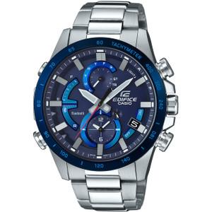 Casio Edifice Bluetooth Tough Solar LED Chronograph Blue Watch EQB-900DB-2AER