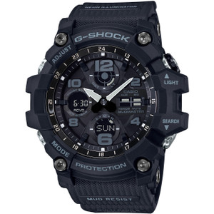 G-Shock Mudmaster Tough Solar Radio-Controlled Watch GWG-100-1AER