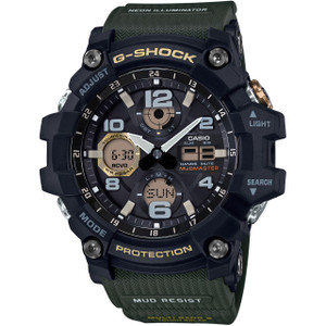 G-Shock Mudmaster Tough Solar Radio-Controlled Watch GWG-100-1A3ER