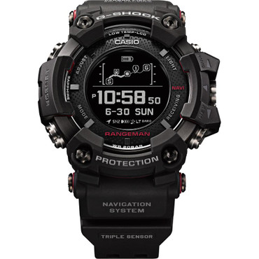 G-Shock Rangeman GPS Navigation Bluetooth Triple Sensor Solar Watch GPR-B1000-1ER