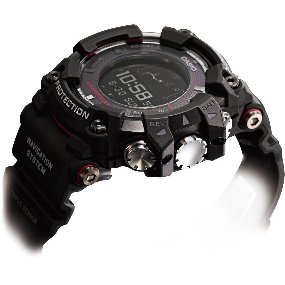 88bdffdb6 G-Shock Rangeman GPS Navigation Bluetooth Triple Sensor Solar Watch GPR-B1000-1ER.  ◅ ZOOM
