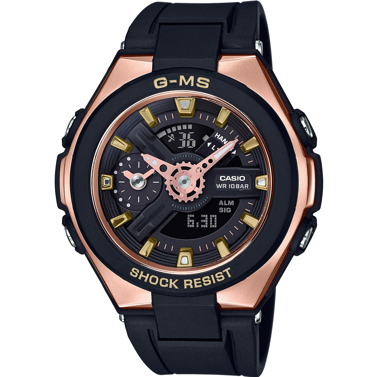 a7d1bcec0ed Casio Baby-G G-MS Metal Sports Rose Gold Watch MSG-400G-1A1ER