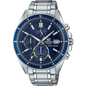 Casio Edifice Solar Sapphire Chronograph Blue Dial Watch EFS-S510D-2AVUEF