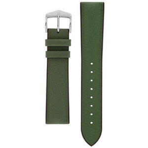 Hirsch Arne Performance Replacement Watch Strap Green Leather