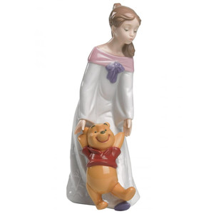 Nao Porcelain Disney Fun With Winnie The Pooh 02001593