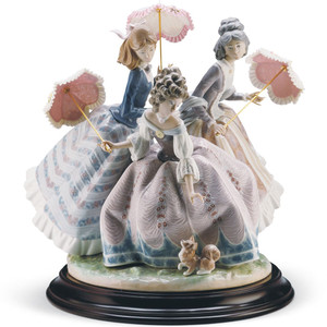 Lladro Porcelain Three Sisters Sculpture Limited Edition 01001492