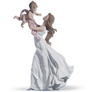 Lladro Porcelain My Little Sweetie Mother Figurine 01006858