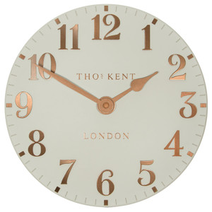Thomas Kent Arabic Flint Grey Wall Clock CAA2GTO12002 (30 CM)