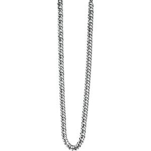 Fred Bennett Maverick Men's Stainless-Steel Curb 56cm Necklace N3224