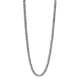 Fred Bennett Men's Stainless-Steel Twisted Link Necklace N4209