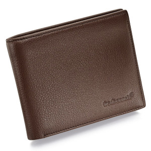Fred Bennett Men's Chocolate Brown Leather Wallet W012