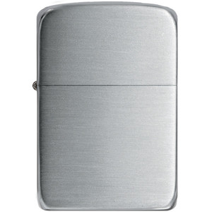 Zippo 1941 Replica Hand Satin Sterling Silver Windproof Lighter 24