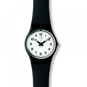 Swatch Ladies Something New Small White Dial Watch LB153