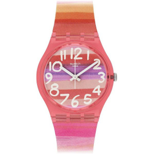 Swatch Ladies Pink Astilbe Watch GP140