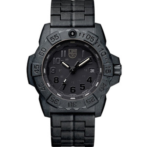 Luminox Navy Seal 3500 Series Carbon Case Bracelet Watch XS.3502.BO