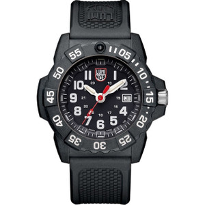 Luminox Navy Seal 3500 Series Carbon Case Strap Watch XS.3501