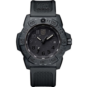 Luminox Navy Seal 3500 Series Black Dial Carbon Case Strap Watch XS.3501.BO