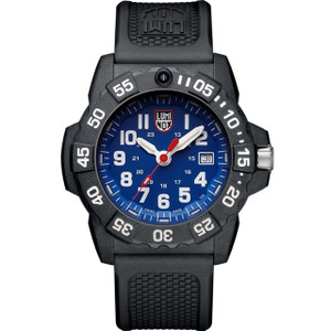 Luminox Navy Seal 3500 Series Blue Dial Carbon Case Strap Watch XS.3503