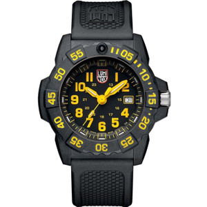 Luminox Navy Seal 3500 Series Carbon Case Strap Watch XS.3505