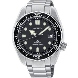 Seiko Prospex Men's Diver's Recreation Black Dial Automatic Stainless-Steel Bracelet Watch SPB077J1