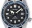 Seiko Prospex Men's Diver's Recreation Automatic Blue Bezel Silicone Strap Watch SPB079J1