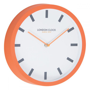 London Clock Orange Pop Wall Clock 24403 25 cm