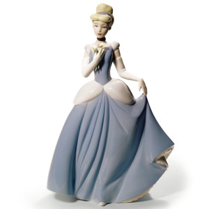 Nao Porcelain Disney Cinderella Figurine 02001681