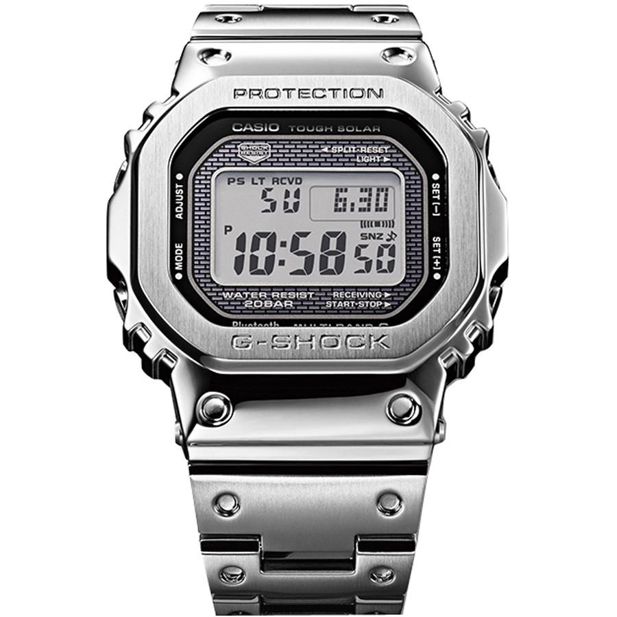 9f114061bf10 Casio G-Shock GMW-B5000D-1ER 35th Anniversary Silver Watch