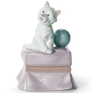 Lladro Porcelain My Favorite Companion Dog Figurine 01006985