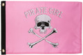 Pirate Girl Flag