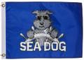 Sea Dog Bark-A-Neer Flag