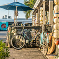 Bikes at the Bait Shop Photo Print