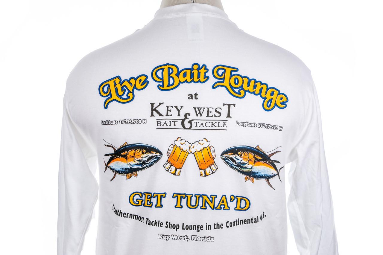 Key West Bait & Tackle Live Bait Lounge Long Sleeve T-Shirt