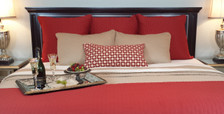 Bed Voyage Coverlet - Cayenne