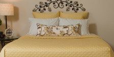 Bed Voyage Coverlet - Butter