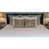 Bed Voyage Coverlet - White