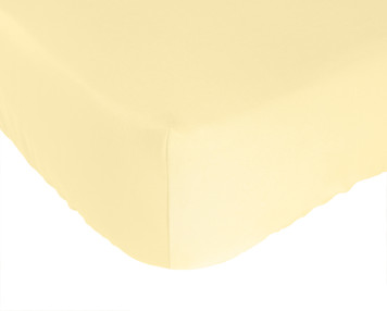 Bed Voyage Crib Sheet - Butter