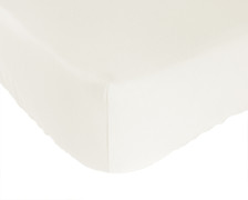 Bed Voyage Crib Sheet - White