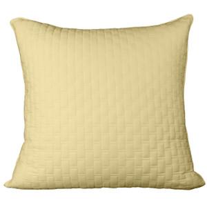 Bed Voyage Euro Sham - Butter