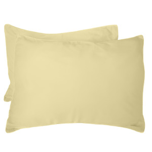 Bed Voyage Standard Shams - Butter