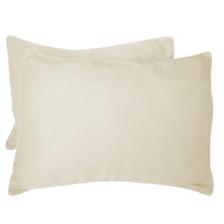 Bed Voyage Standard Shams - Ivory