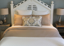 Bed Voyage Duvet - Champagne / Ivory