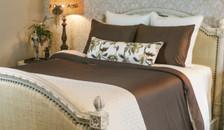 Bed Voyage Duvet - Mocha / Ivory