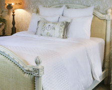 Bed Voyage Duvet - White / White