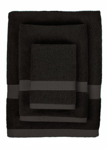 Bamboo Towel Set - Black Too