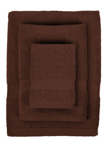 Bamboo Towel Set - Chocolate too