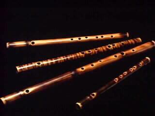 Transverse Bamboo Flutes