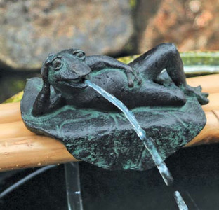 Frog & Bamboo Base